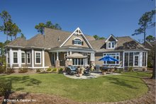 Home Plan - Craftsman Exterior - Rear Elevation Plan #929-920