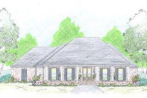 Farmhouse Exterior - Front Elevation Plan #36-465
