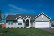 Traditional Style House Plan - 3 Beds 2 Baths 1360 Sq/Ft Plan #20-111