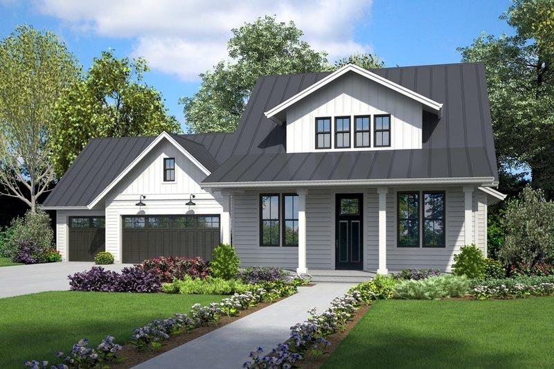 Home Plan - Farmhouse Exterior - Front Elevation Plan #48-995