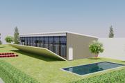 Modern Style House Plan - 3 Beds 3.5 Baths 1937 Sq/Ft Plan #542-11