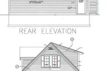 Home Plan - Traditional Exterior - Rear Elevation Plan #72-252