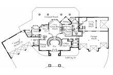 Floor Plan - Main Floor Plan Plan #509-70