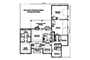 Ranch Style House Plan - 3 Beds 2.5 Baths 2096 Sq/Ft Plan #17-174 Floor Plan - Main Floor Plan