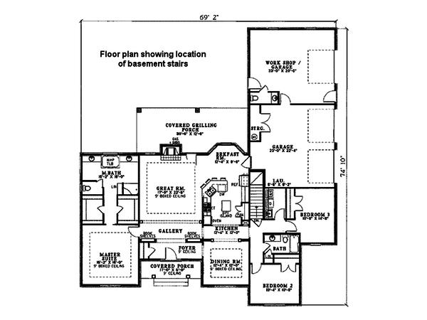 House Plan Design - Floor Plan