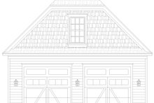 House Plan Design - Country Exterior - Front Elevation Plan #932-368