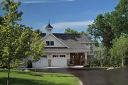 Craftsman Style House Plan - 4 Beds 5.5 Baths 5269 Sq/Ft Plan #928-259 Exterior - Front Elevation