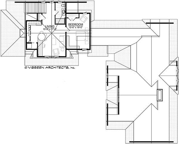 Dream House Plan - Optional Bonus Guest Suite