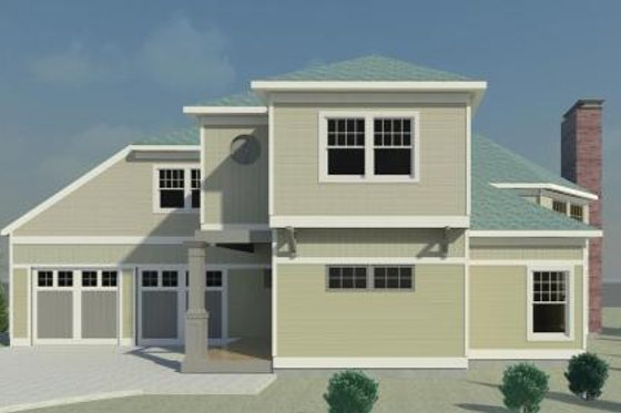 Traditional Exterior - Front Elevation Plan #524-9