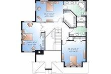 European Floor Plan - Upper Floor Plan Plan #23-860