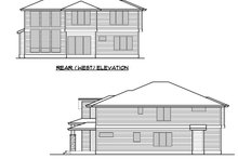 Contemporary Exterior - Other Elevation Plan #1066-69