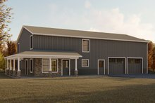 Modern Exterior - Front Elevation Plan #1064-18
