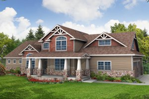 House Design - craftsman house by Eugene Oregon designer 27,000 sft
