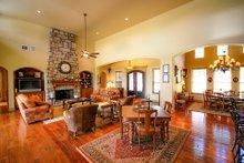 Dream House Plan - Prairie Interior - Family Room Plan #80-211