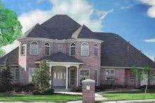 Dream House Plan - European Exterior - Front Elevation Plan #52-161
