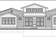 Craftsman Exterior - Front Elevation Plan #1073-14