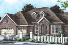 Dream House Plan - Traditional Exterior - Front Elevation Plan #20-1365