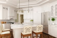 Ranch Interior - Kitchen Plan #119-431