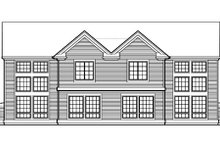 Dream House Plan - Traditional Exterior - Rear Elevation Plan #48-154