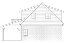 Dream House Plan - Craftsman Exterior - Rear Elevation Plan #124-941