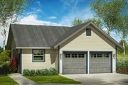 Traditional Style House Plan - 0 Beds 0 Baths 960 Sq/Ft Plan #124-992 Exterior - Front Elevation