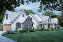 Dream House Plan - Cottage Exterior - Front Elevation Plan #120-269