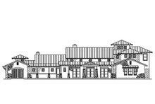 Architectural House Design - Mediterranean Exterior - Front Elevation Plan #935-4