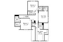 European Floor Plan - Upper Floor Plan Plan #927-31