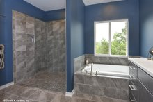 House Plan Design - Contemporary Interior - Master Bathroom Plan #929-85
