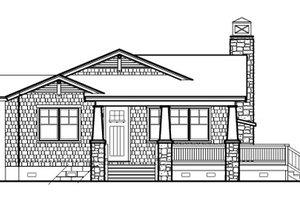 Craftsman Exterior - Front Elevation Plan #490-25