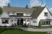 Farmhouse Style House Plan - 3 Beds 2.5 Baths 2125 Sq/Ft Plan #51-1134 Exterior - Front Elevation