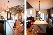 European Style House Plan - 4 Beds 3.5 Baths 2166 Sq/Ft Plan #430-132 Interior - Kitchen