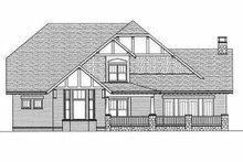 Architectural House Design - Craftsman Exterior - Rear Elevation Plan #413-106