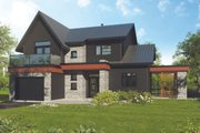 Modern Style House Plan - 4 Beds 2 Baths 1944 Sq/Ft Plan #23-2308 Exterior - Front Elevation