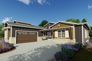 Farmhouse Style House Plan - 4 Beds 3 Baths 2690 Sq/Ft Plan #1069-20 Exterior - Front Elevation