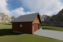 Dream House Plan - Traditional Exterior - Other Elevation Plan #1060-89