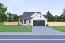 Craftsman Exterior - Front Elevation Plan #1070-89