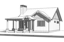 Dream House Plan - Cabin Exterior - Front Elevation Plan #895-91