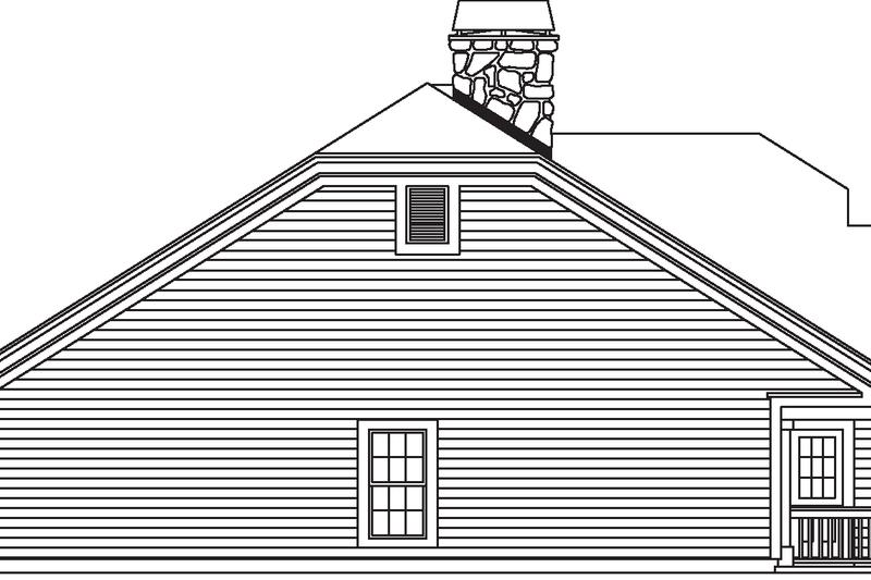 Contemporary Exterior - Other Elevation Plan #57-583 - Houseplans.com