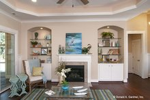 Architectural House Design - European Interior - Family Room Plan #929-958