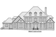 Traditional Style House Plan - 6 Beds 6.5 Baths 6303 Sq/Ft Plan #1054-22