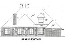 Dream House Plan - European Exterior - Rear Elevation Plan #310-641