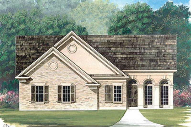 Dream House Plan - European Exterior - Front Elevation Plan #119-274