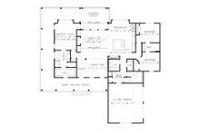 Farmhouse Floor Plan - Main Floor Plan Plan #54-392