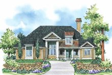 Home Plan - Country Exterior - Front Elevation Plan #930-184