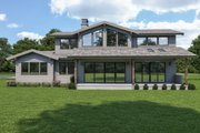 Modern Style House Plan - 3 Beds 2.5 Baths 2641 Sq/Ft Plan #1070-125 Exterior - Other Elevation