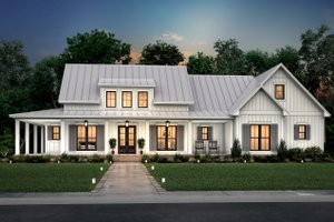 Farmhouse Exterior - Front Elevation Plan #430-261