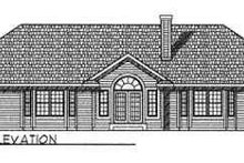 Dream House Plan - Traditional Exterior - Rear Elevation Plan #70-364