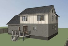House Plan Design - Country Exterior - Other Elevation Plan #79-180