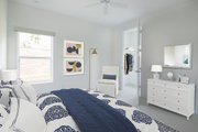 Beach Style House Plan - 3 Beds 2.5 Baths 1830 Sq/Ft Plan #938-108 Interior - Bedroom